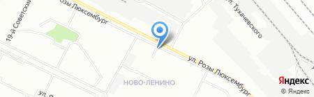 Спортлото на карте Иркутска