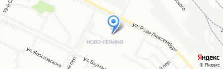 Вавилон на карте Иркутска