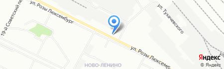 Технология на карте Иркутска