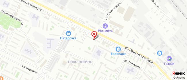Карта расположения пункта доставки Westfalika в городе Иркутск