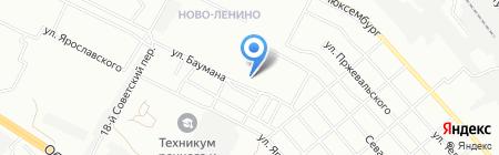 Местный на карте Иркутска