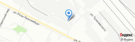 Автотранссервис на карте Иркутска