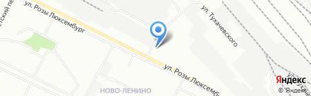 АЗС РосНефть на карте Иркутска