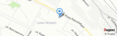 Иркутская областная коллегия адвокатов на карте Иркутска