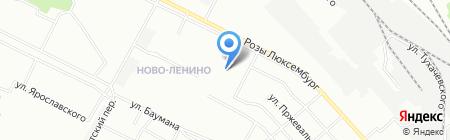 Satsiti на карте Иркутска