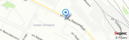 Союз-тайм на карте Иркутска