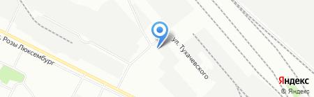Автогаражный кооператив №255 на карте Иркутска