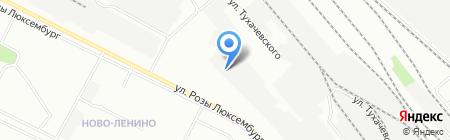 ОкАзия на карте Иркутска
