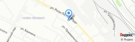 Банкомат АКБ Авангард на карте Иркутска