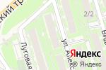 Схема проезда до компании Салон-парикмахерская в Марковой