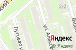Схема проезда до компании Домашний любимец в Марковой