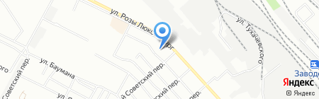 Нотариусы Воробьев Е.Г. и Воробьева Е.Ю. на карте Иркутска
