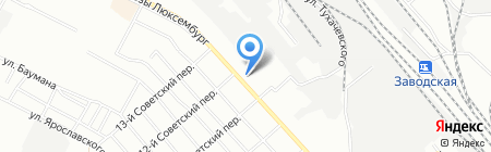 Отдел судебных приставов по Ленинскому административному округу г. Иркутска на карте Иркутска