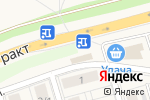 Схема проезда до компании Фруктовый рай в Марковой