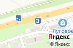 Схема проезда до компании Pizza в Марковой
