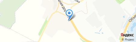 Торгово-сервисная компания на карте Иркутска