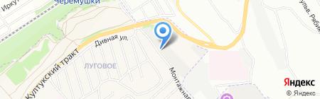 БаркасАвтоСервис на карте Иркутска