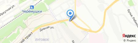 Авторитет на карте Иркутска