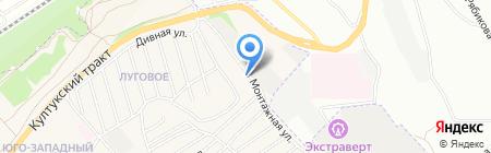 Гортоп на карте Иркутска