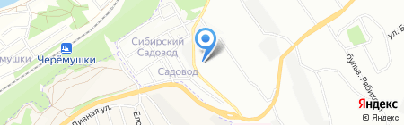 Детский сад №97 на карте Иркутска