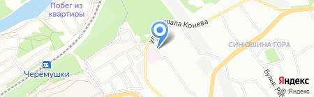 Сибирский Садовод на карте Иркутска