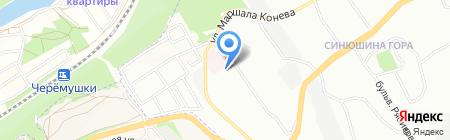 Бриз на карте Иркутска