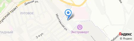 АвтоЛайн на карте Иркутска