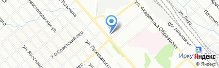 У Дома на карте Иркутска