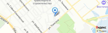 ФинЭко на карте Иркутска