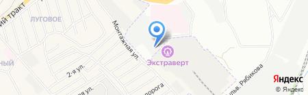 Байкальский Мебельный Комбинат на карте Иркутска