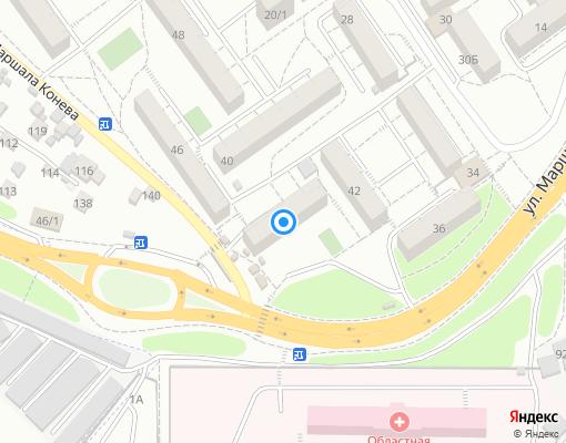 Жилищно-строительный кооператив «Радиоприёмник» на карте Иркутска
