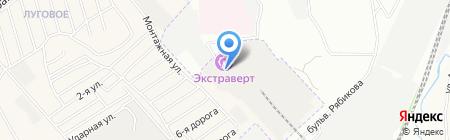 Изодом-Байкал на карте Иркутска