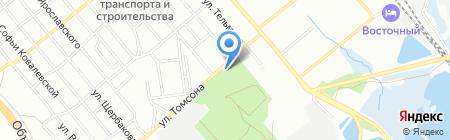 СтройСервис на карте Иркутска