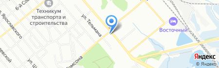 Мегафарм на карте Иркутска