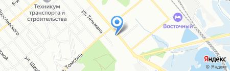 БайкалЭнегроМаркет на карте Иркутска