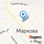 ЭКОНОМиЯ на карте Марковой