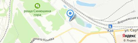 Ключ на карте Иркутска