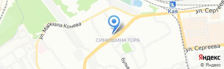 Иркутскэнергосбыт на карте Иркутска