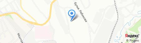 Детский сад №96 на карте Иркутска
