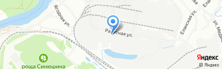 Адмирал Колчак на карте Иркутска