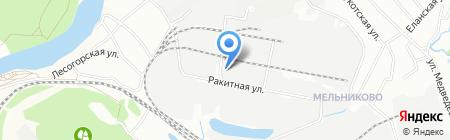 СК Сибирь на карте Иркутска