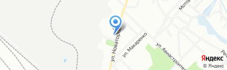 Светофор на карте Иркутска