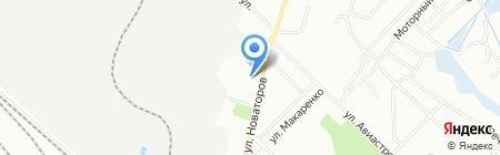 Аптека №103 на карте Иркутска