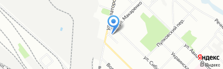 Детская художественная школа №3 на карте Иркутска