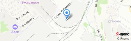 АвтоПРЕСТИЖ НОУ на карте Иркутска