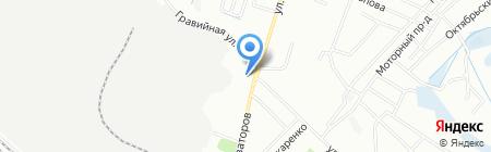 Скорая медицинская помощь на карте Иркутска