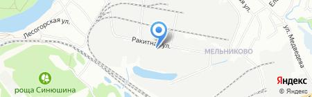 Купеческий экспресс на карте Иркутска