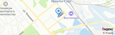 Восток Косметик на карте Иркутска