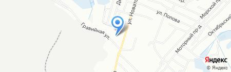 Банкомат Райффайзенбанк на карте Иркутска