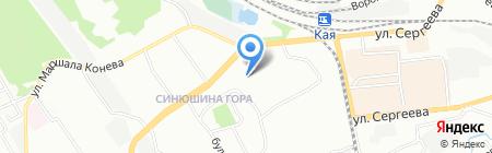 Детский сад №142 на карте Иркутска
